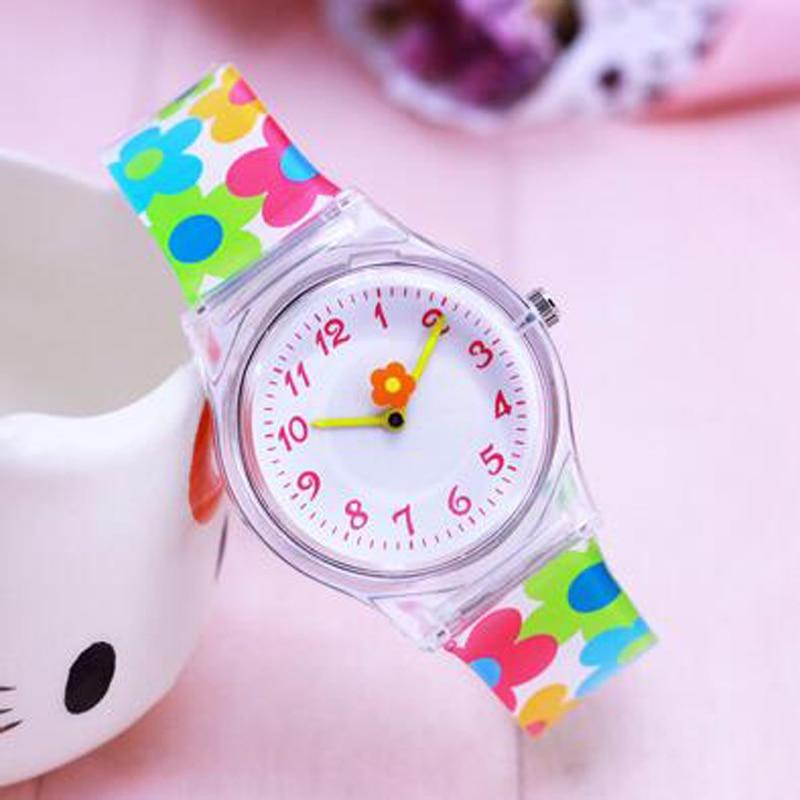 2018 Willis New Famous Brand Women Children Girls Pu-strap Transparent Quartz Watches Ladies Casual Sports Waterproof Wristwatch