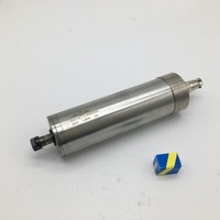 60000RPM 1.2KW 220V ER11 Water cooled spindle 62MM High speed for CNC engraving milling machine Router
