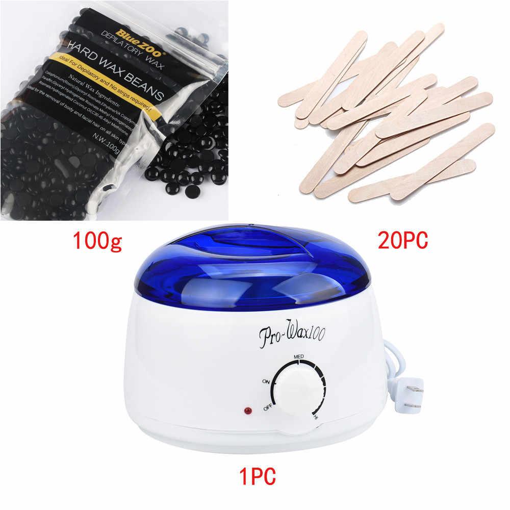 Epilasyon Fasulye Sopa Sıcak ağda ısıtıcı Isıtıcı Pot Tüy Dökücü Seti Çok Fonksiyonlu Epilasyon Balmumu Makinesi Balmumu Fasulye kiti