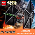 NEW 1685pcs Lepin 05036 Star War Series Tie Fighter Building Educational Blocks Bricks Toys Compatible with 75095