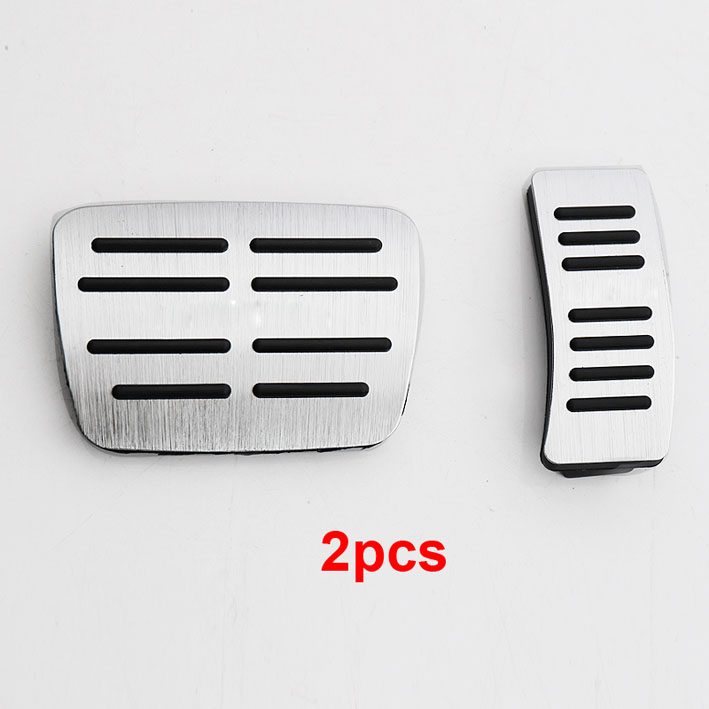 2 3pcs for Phideon 2016 2018 Accelerator pedal Brake pedal No punching decorate cover Non slip in Interior Mouldings from Automobiles Motorcycles