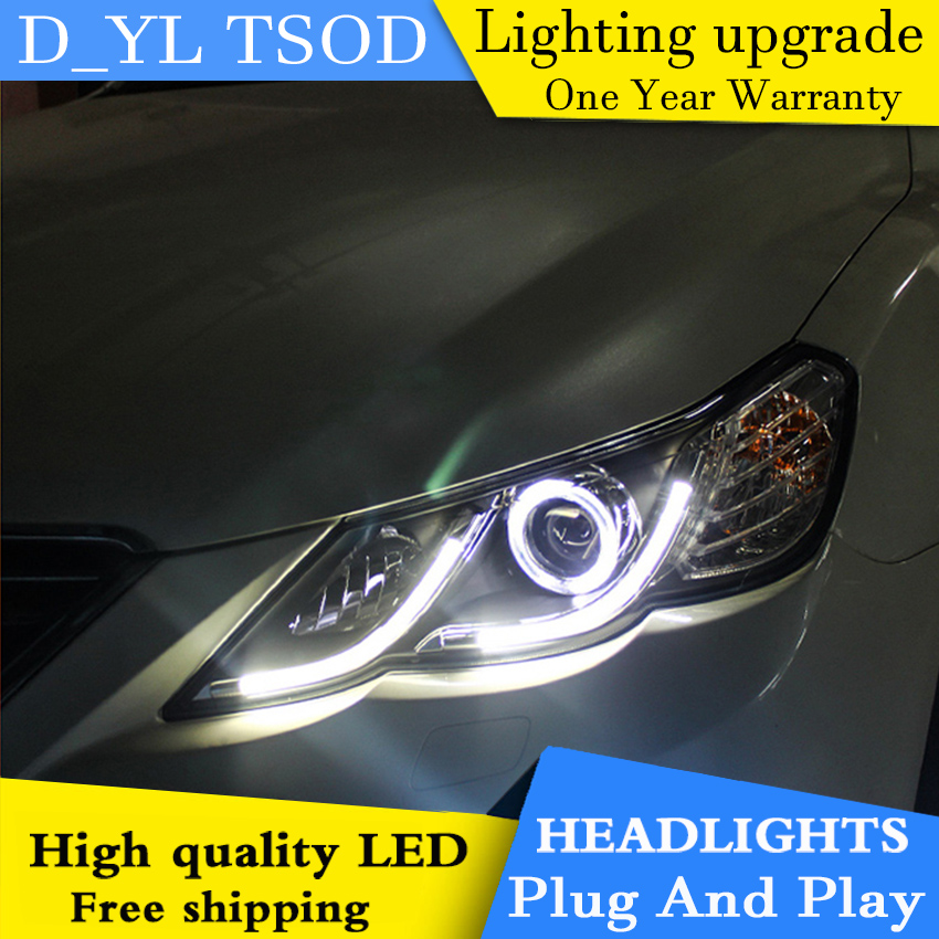 Car Styling Headlights for Toyota MARK X 2010 13 LED Headlight for Reiz Head Lamp LED