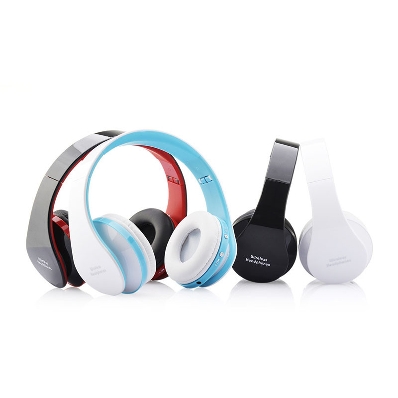 300mAh Rechargeable Wireless Bluetooth Foldable Headset 3.5mm Stereo Headphone Earphone For iPhone Smart Phones #ES