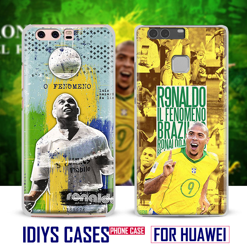 For Huawei Ascend P8 P9 Lite P10 Plus Honor 6x 7i V8 V9 9 Mate 7 8 9 Nova Ronaldo El fenomeno Brazil Phone Case Shell Cover bag