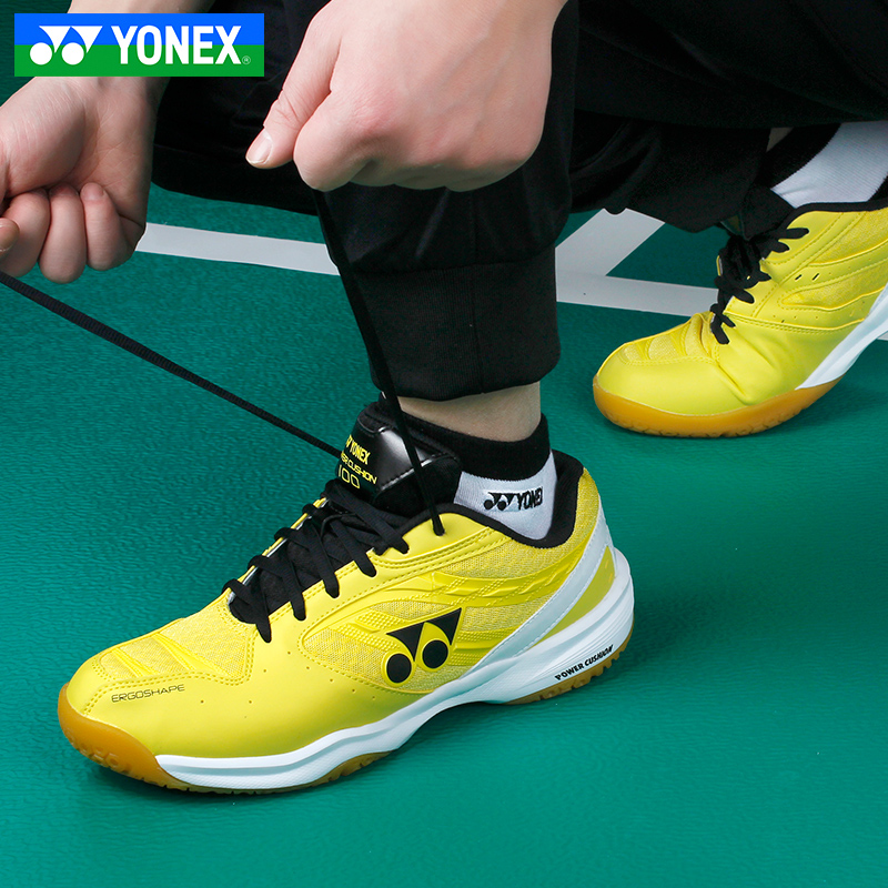 New Arrival Yonex Yy Badminton Shoes For Men Women Badminton Training Tennis Shoes Sport Sneakers 100c