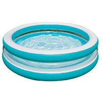 INTEX 203*51CM Inflatable Family Pool Inflatable Bathtub Round Inflatable Swimming Pool Children's Ocean ball pool