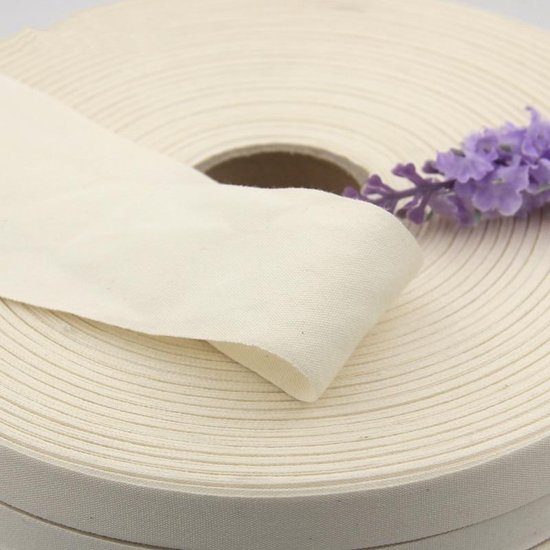 4 yards  Blank Cotton Ribbon Webbing Tapes DIY Craft Sewing Packing Cloth Fabric