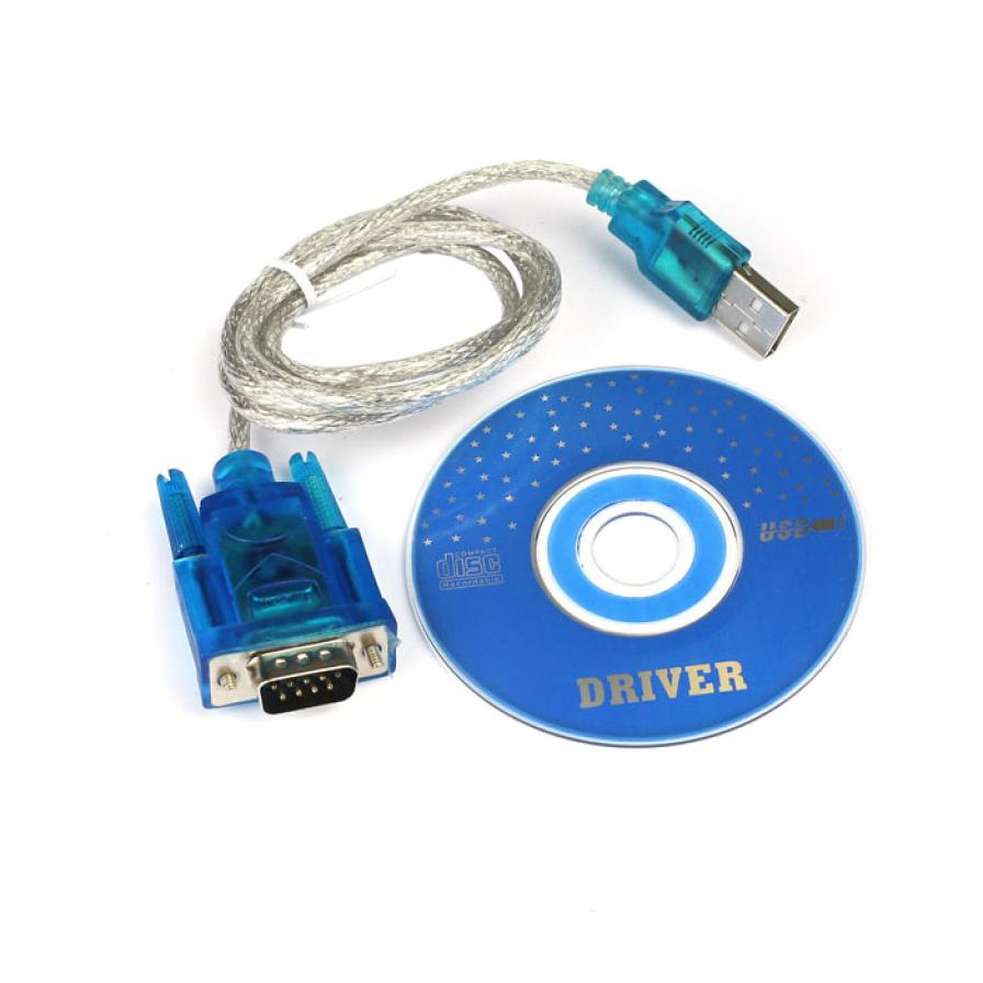 Factory Price MOSUNX Hot Selling USB TO RS232 DB9 Serial COM Convertor Adapter Support PLC Free Shipping