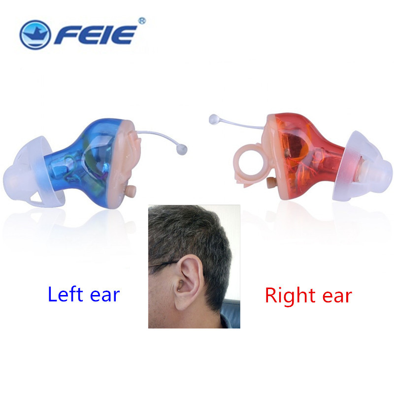 Wireless Digital Hearing Aids Tinnitus Programmable Audiometry Mini Invisible 8 Channel Digital Amplifier S-17A aids development