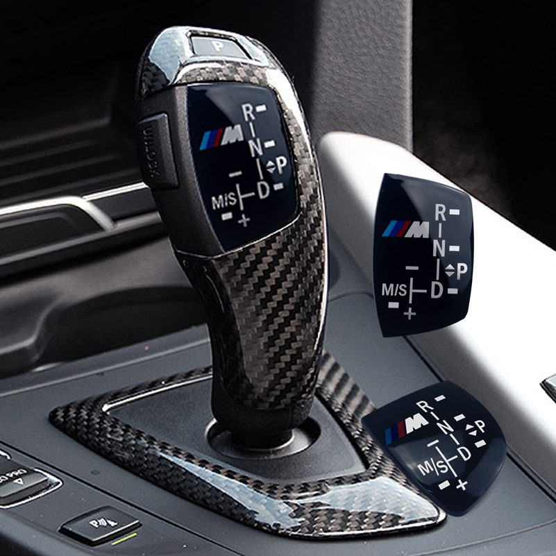M Logo Gear Sticker Shift Knob Panel For Bmw M X1 X3 X4 X5