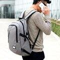 Men Polyester Solid Shool Book Backpack for Teenager Preppy Style Boy Back Shoulder Bag Large Capacity Laptop Bag Wholesale 0219