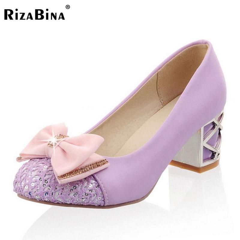 RizaBina free shipping high heel shoes women sexy dress footwear fashion platform pumps P14539 EUR size 32-43 free shipping candy color women garden shoes breathable women beach shoes hsa21