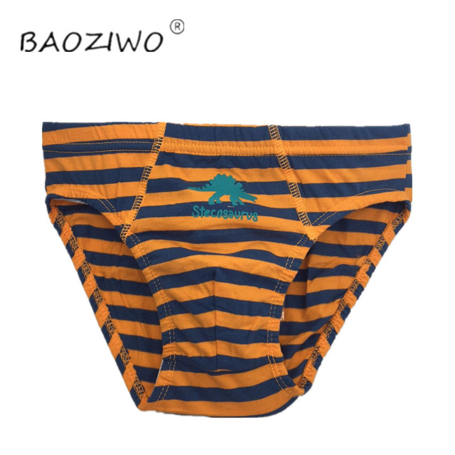 Baoziwo child panties for boys underwear cotton  in brief for teenage boys in size 110/116 134/140 2