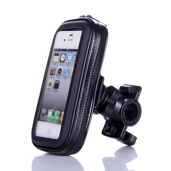 Bike Bag Bicycle Waterproof Bag Phone Case Pouch Handlebar Mount Phone Holder For iPhone 5 5S 5G 5C SE 4 4S 4G