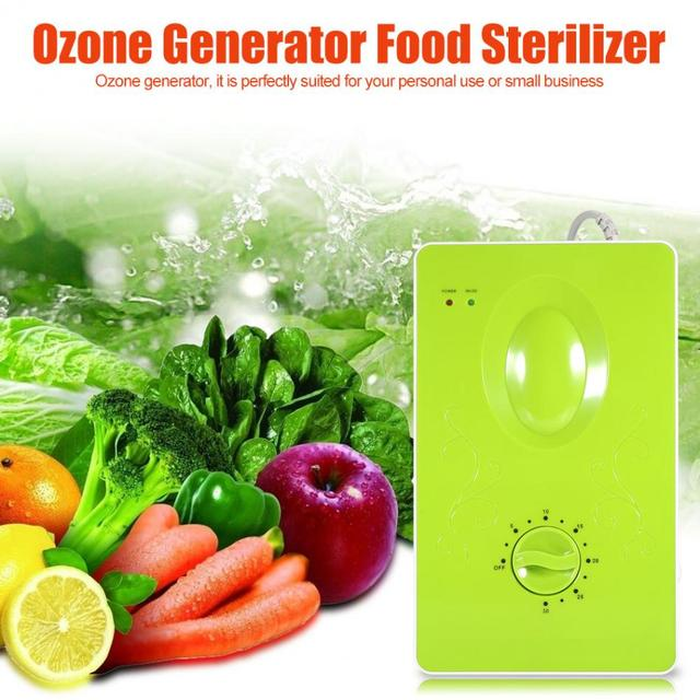 220V 50Hz 400mg/h Ozone Generator Air Purifiers Ozonator Household Water Food Vegetable Fruit Purify Sterilizer