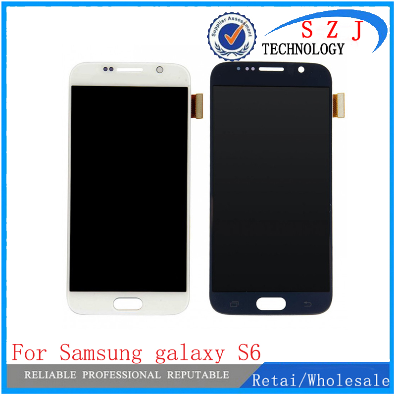 New case For Samsung galaxy S6 lcd display touch screen digitizer G920i G920P G920f G920V G920A G920W8 for samsung s6 lcd brand new 30pcs wholesale price for samsung galaxy s7 edge g935 g9350 g935f g935fd lcd display touch screen free dhl 3 color