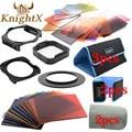 KnightX 24 Фильтр Окончил ND Набор цвет cokin серии p для Nikon Canon 750D EOS 1200D 700D 600D 100D объектив 52 58 67 77 82 мм