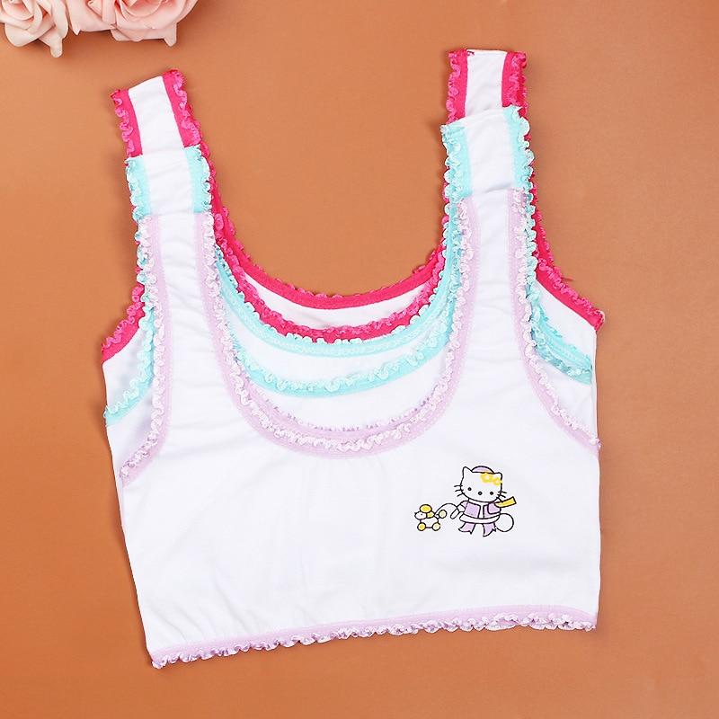 Aliexpress.com : Buy 5 cotton young girls training bra 10