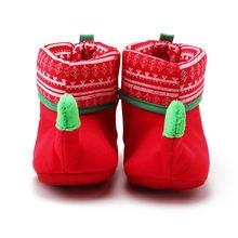 Новое поступление 2018 Рождественский дизайн детская обувь уникальные