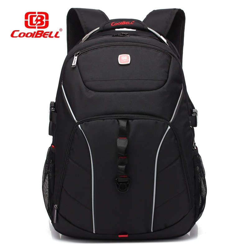COOLBELL 2017.11 new Laptop bag for 17.3 inch notebook computer Backpack Anti theft scratch prevention Business learning travel ...