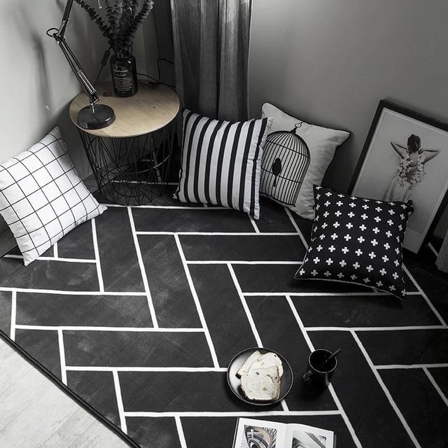 Aliexpress.com : Anti Slip Moderne Wohnzimmer Große Teppich Sofa ... Teppich Wohnzimmer Grose
