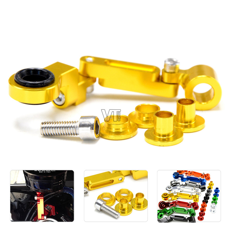 Universal Motorcycle part fluid reservoir Master Cylinder Mount support bracket for Suzuki GSF1250 BANDIT GSF650 VL1500 Intruder