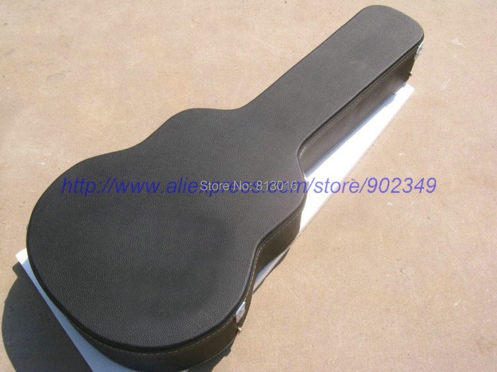 Jazz and acoustic Guitar black Hardcase Not sell separately ,Sale with guitar together! new electric guitar black hardcase not sell separately sale with guitar together