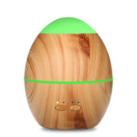 12W 300ML Aromatherapy Essential Oil Diffuser Wood Grain Colorful LED Lights Ultrasonic Cool Mist Air Aroma