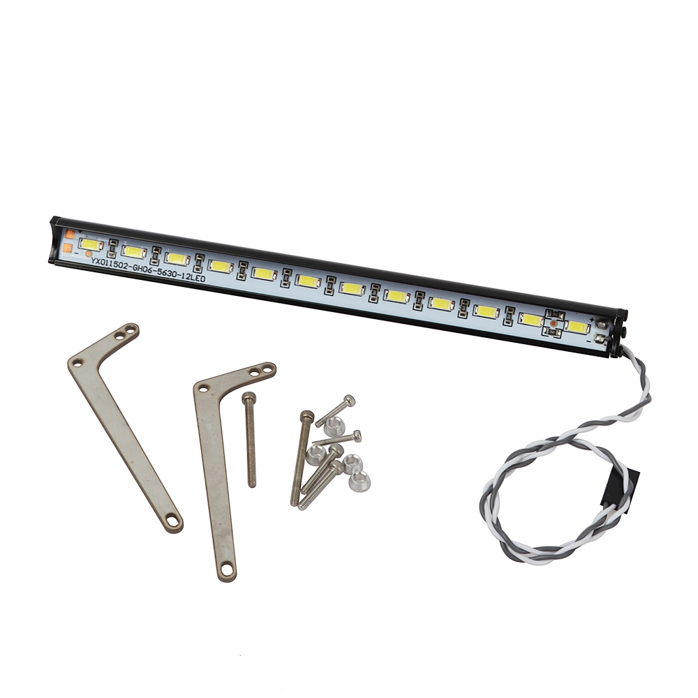 Image 3 - 1/10 RC Super Bright Metal LED Light Bar for 1/10 Crawler Traxxas Trx 4 Trx4 Upgrade Accessories-in Parts & Accessories from Toys & Hobbies