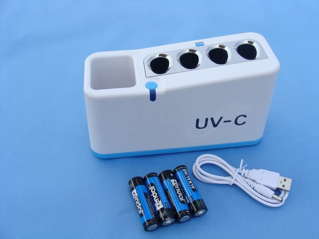 UV household toothbrush sterilizer stand