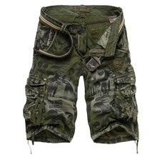 2017 Hommes Militaire Shorts D'été Hommes de Camouflage Armée Cargo Shorts Shorts D'entraînement Homme Bermuda Décontracté Pantalon plus la taille(China (Mainland))