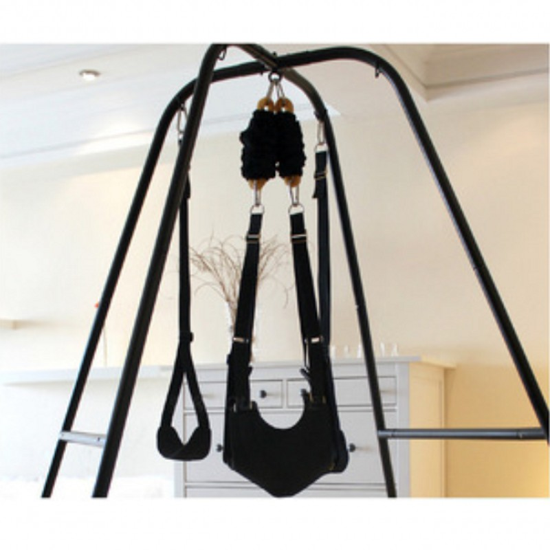 TOUGHAGE Adult Sex Swing with Support Frame Elastic Bungee Luxury Love Swing Hanging Chair Sex Furniture Sex Toys For Couples цена