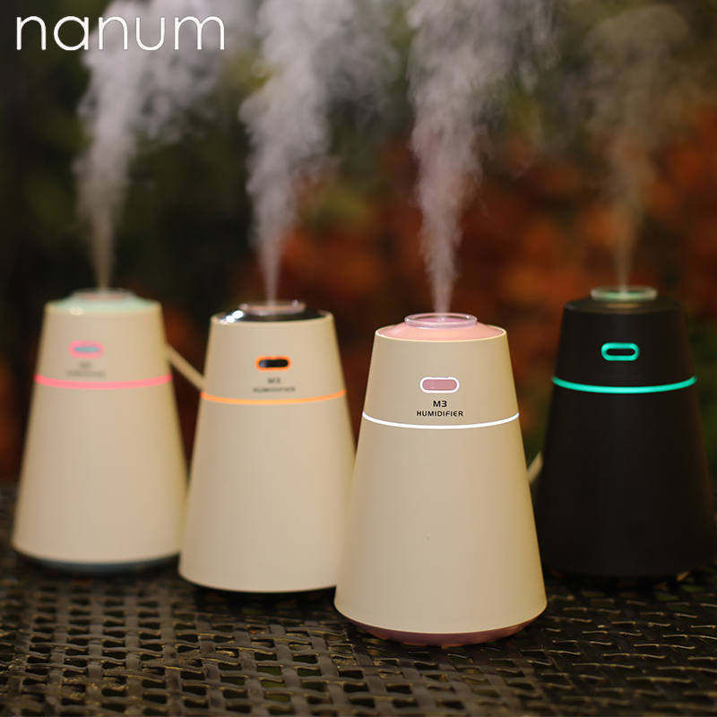 USB Aroma Essential Oil Diffuser Ultrasonic M3 Humidifier Air Purifier LED Night Light Air Freshener Car Air Freshener