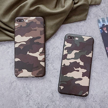 Luxury Army Green Camouflage Cover Phone Case For iPhone 8 Soft TPU Silicon Cases For iPhone 8 7 6 6S 5 5S SE Plus X XS XR MAX цена и фото