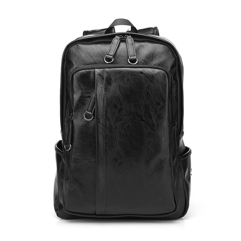 цены High Quality Men Backpacks Fashion High Grade Designer Leather Backpack For Teenager Casual School Backpacks Travel mochila 2018