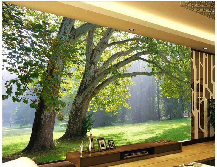 3d wallpaper custom photo non-woven mural natural landscape forest trees painting room 3d wall mural wallpaper for walls 3d custom 3d photo wallpaper waterfall landscape mural wall painting papel de parede living room desktop wallpaper walls 3d modern