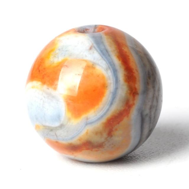 Orange Agate Beads Stone...