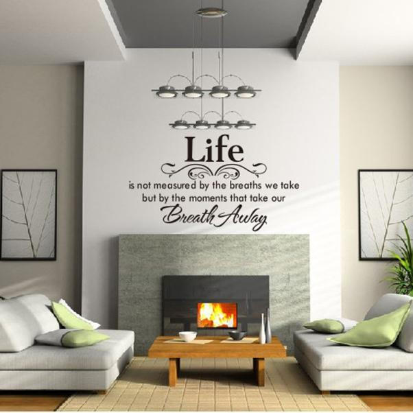 Life is not measured Vinyl Wall Home Decor Decal Quote Inspirational Adorable,WALL ART STICKER DECAL MURAL TEXT QUOTE @022