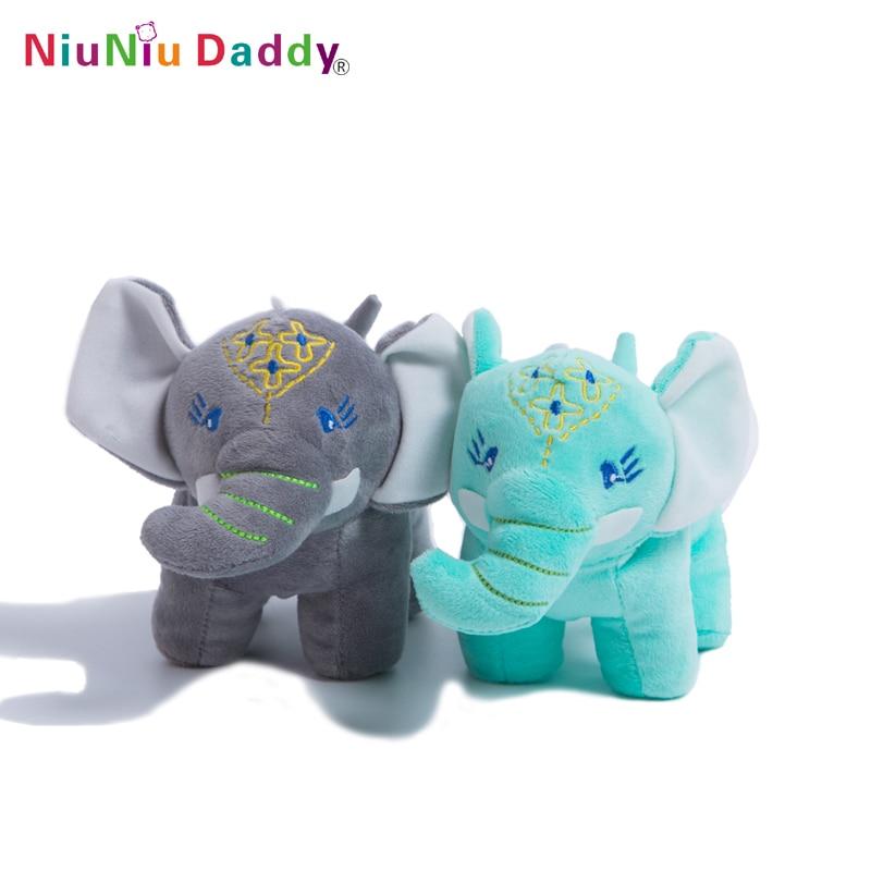 Niuniu Daddy 20cm Apel Elephant Infant Animale moi umplute Elephant - Jucării moi și plușate