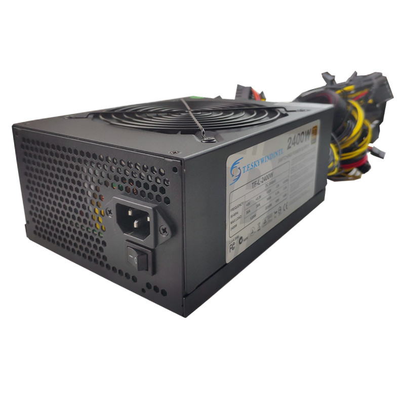 T.F.SKYWINDINTL 2000W Coin Mining Power Supply PSU For 8 GPU BTC Eth Rig Ethereum Miner 2000W ATX PSU SATA IDE MAX2400W-in PC Power Supplies from Computer & Office