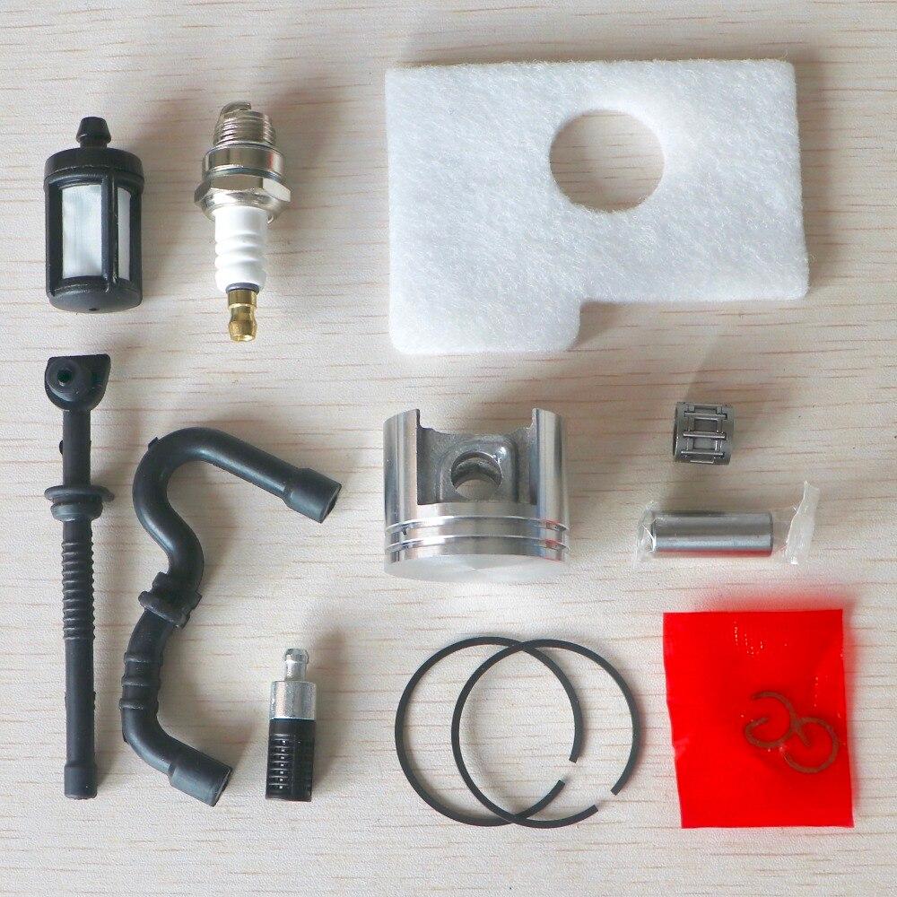 Kit De Pist/ón De 38 Mm L/ínea De Aceite De Filtro De Aire Para Stihl 018 Ms180 Ms 180
