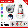 EAZZYDV BC-785W Wifi IP Network DVR support TF Card P2P HD 720P Wireless Surveillance CCTV Security Bulb Camera IR Night Vision