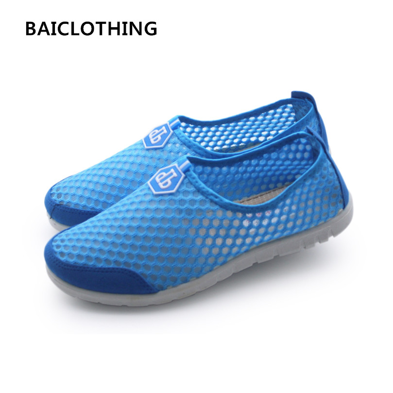BAICLOTHING  women cute spring summer soft slip on shoes lady cool mesh breathable sport shoes lady casual flat shoes sapatos minika breathable mesh lace shoes women thick bottom shallow mouth women casual shoes slip on flat shoes women high quality