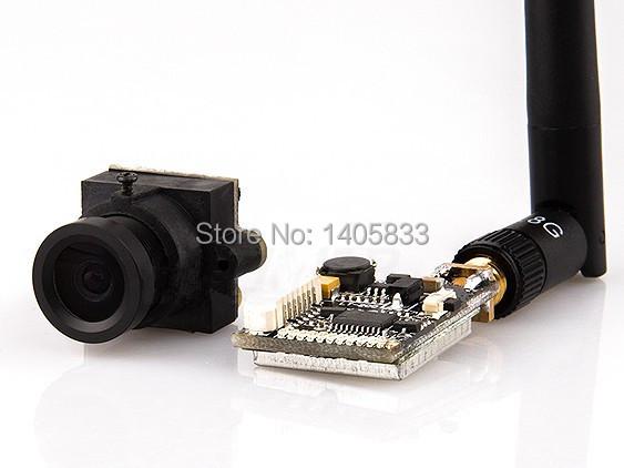 FPV FOV160 Camera Lens Module with TL200 200mW 32CH FPV Transmitter for RC Mini QAV250 / 280 --- Multicopters  Quadcopter тепловизор rgk tl 160