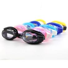 Регулируемые очки для плавания для детей и подростков, очки для плавания, очки для глаз, спортивная одежда для плавания с ушками и зажимом для носа
