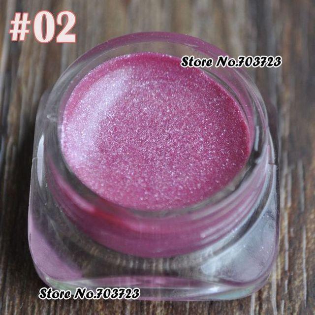 Hot sales mooie Blitse Shimmer Oogschaduw Eyeliner Glitter Crème Gel Pasta poeder glitter roze N02