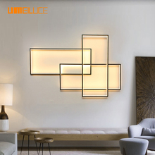 UMEILUCE Modern Ceiling Light LED Flush Mount Fixture Smart Lighting for Living Bed Room Foyer Stairs Wall Decorative Lamp