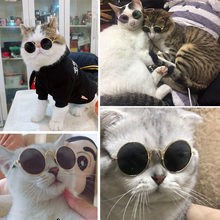 Stylish Pet Cat Glasses Retro Circular for Small Dog Cats Eye-wear Protection Puppy Sunglasses Photos Accessoires