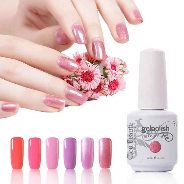 Clou Beaute 15ml Gel Polish French Nails UV Gel 220 Colors For Your Choose Soak Off Nail Gel Lacquer UV Gel Nail Polish