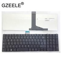 Gzeele Uk (Gb) Toetsenbord Voor Toshiba Satellite Pro C850 C855 C850D C870 L850 L855 Uk Keyboard Black